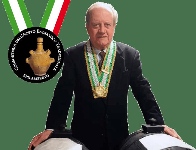 Maurzio Fini - Consortoria Dell' Aceto Balsamico Tradizionale Spilamberto - UNESCO Weltkulturerbe Balsamico