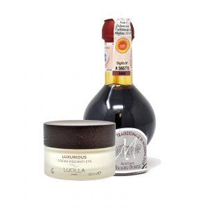 lucilla anti aging cream + aceto balsamico tradizionale