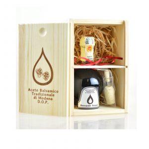 Aceto Balsamico Tradizionale di Modena D.O.P. - Sølv - 12v