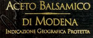 Aceto Balsamico di Modena I.G.P - Ero erottamattomana balsamiviinietikka ja todellinen Balsamico Modenasta